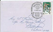 1979 Polphil '79 Melbourne Special Postmark Pictor Marks Pm 668 (3)