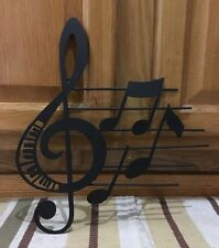 Metal Music Note Wall Decor Piano Band Drums Guitar Bedroom Music Room