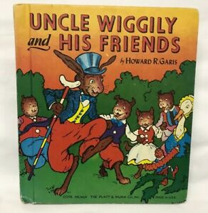 1955 Uncle Wiggily and His Friends Illustrated HC Book - Howard R. Garis
