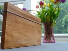 Wooden Cheese/ Cutting Board Serving Platter - Maple Walnut - Handmade Bespoke 2