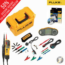 Fluke 1664FC Multifunzione Tester KIT4I, T150 Tensione Continuità Tester Software