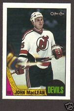 1987-88 OPC Hockey John MacLean #191 NJ Devils NM/MT