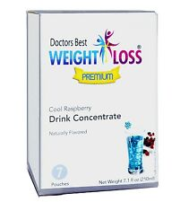 Doctors Best Premium - Cool Raspberry High Protein Drink Concentrate