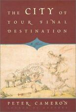 The City of Your Final Destination, Cameron, Peter, Good Condition, Book