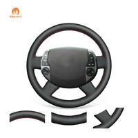 Durable Black Artificial Leather Steering Wheel Cover for Toyota Prius 20(XW20)