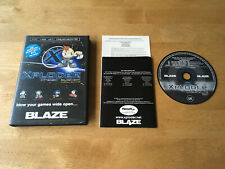 PS2 Blaze Xploder Cheat System Version 1.0 Rare