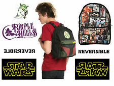 Star Wars Foto Panel Y Boba Fett Mochila Reversible