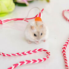 Adjustable Leash Collar Guinea Pig Small Pets Lead Pet Hamster Traction Rope