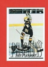 1995-96 Topps OPC Canadian parallel # 190 Ken Wregget PITTSBURGH PENGUINS GOALIE