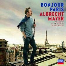 """Albrecht MAYER """"BONJOUR PARIS"""" CD NEUF"""