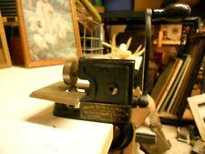 New ListingPre-1930's Antique / Vintage Maxant Button & Pleat machine. Scallop Design Wheel