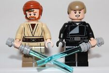 LEGO STAR WARS Minifigures: LUKE SKYWALKER & OBI WAN KENOBI - Ewok Village 10236
