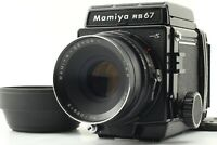 [EXC+5] Mamiya RB67 Pro S w/ SEKOR C F3.8 127mm Lens 120 Filmback from JAPAN
