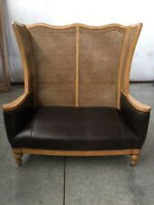 BOB TIMBERLAKE ANOTHER WORLD ANN CLAIRBORNE'S SETTEE LEATHER CENTURY FURNITURE