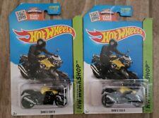 2015 Hot Wheels #190 HW Workshop BMW K 1300 R Yellow/Black wMC3s lot of 2