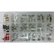 Contractor & Home Fuse Kit 180 Plugtop & Glass Quick and Slow Blow Fuses in Box