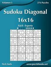 Sudoku Diagonal: Sudoku Diagonal 16x16 - de Fácil a Experto - Volumen 5 - 276...