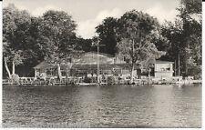 AK-Kyritz in der Prignitz. Inselrestaurant im Untersee, ungel. 1950iger Jahre