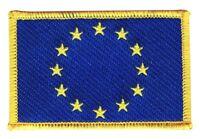 Europäische Union EU Aufnäher Flaggen Fahnen Patch Aufbügler 8x6cm