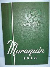 1958 Maraquin, Saint Thomas Aquinas High School, New Britain, Conn Yearbook