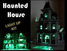 Lighting Kit for LEGO Monster Fighters 10228 Haunted House (LED LIGHT KIT ONLY)