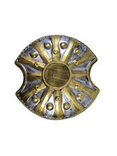Spartan Gladiator Curved Shield Fancy Dress Roman Greek Warrior Medieval Mens Ac