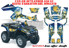 AMR RACING DEKOR GRAPHIC KIT ATV CAN-AM OUTLANDER IRON MAIDEN-LIVE AFTER DEATH B