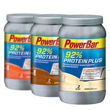 Powerbar Protein Plus 92% Eiweisspulver mit BCAA in 3 Sorten (3,63 €/100g)