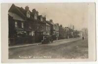 Harrow Weald College Road Middlesex Vintage RP Postcard 317c