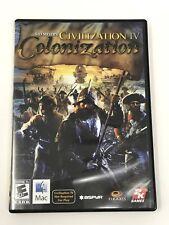 Sid Meier's Civilization IV: Colonization (Apple, 2009) Intel Mac