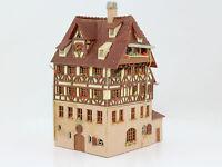 H0 Faller B-932 Dürerhaus Fachwerkhaus fertig aufgebaut