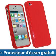 Étuis, housses et coques Bumper rouge pour téléphone mobile et assistant personnel (PDA) Apple