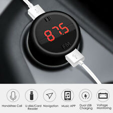 Bluetooth Wireless Car FM Transmitter MP3 Player Radio Adapter Dual USB Charger