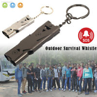 F95A 150DB Stainless Steel Whistle Lifesaving Emergency SOS Outdoor Survival