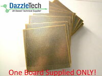 Copper stripboard 100 x 100mm 39x38 hole prototype vero board gold-plate 1 piece