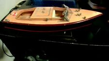wooden Nautical speed boat model