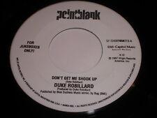 Duke Robillard: Don't Get Me Shook Up / Take My Word For It 45 - Blues R&B