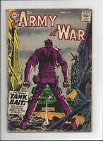 Our Army at War #80 DC Comics 1959 Complete Good - issue before Sgt Rock Proto