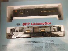 Ho Proto 2000 Pennsylvania #8588 Sd7 W/Dynamic Brake Locomotive New