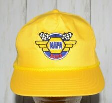 NAPA 500 Embroidered Yellow Rope Hat Cap Snapback Vintage