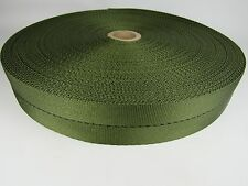 1 3/4 inch 5 Yards Military OD Green Nylon medium webbing strapping