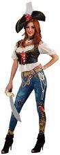 "Adult Ladies Renaissance HALLOWEEN COSTUME ""Pirate Booty"" LARGE 16-20 Five Piece"