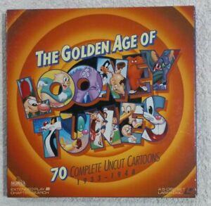 The Golden Age of Looney Tunes 1933-1948 - Laserdisc, 70 Uncut Cartoons, 5 Discs