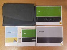 GENUINE RENAULT CLIOI OWNERS MANUAL HANDBOOK WALLET 2005-2009 PACK D-944