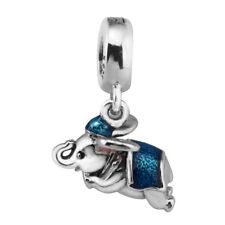 "cc Pandora Silver Charm ""Disney Flying Elephant Dumbo"" #792124ENMX ALE S925"