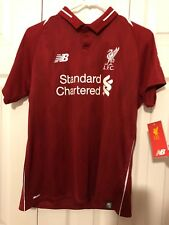 Authentic James Milner Liverpool Jersey, Size Large, Home Jersey, Red color