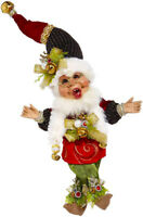 "Mark Roberts Elves - Sleighbells Elf 51-05564 Small 10"" Figurine"