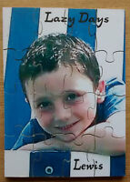 personalised wooden puzzles/kids /birthdays/christmas, picture puzzle