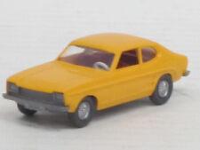 Ford Capri in orangegelb, o.OVP, Wiking, 1:87, Lenkrad eingesetzt