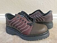 Dr. Martens Women`s 1461 Vintage Made in England 5 eye oxford shoes brown